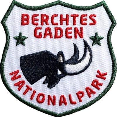 Berchtesgaden-Nationalpark-Steinbock-Watzmann Aufnäher von Club of Heroes.