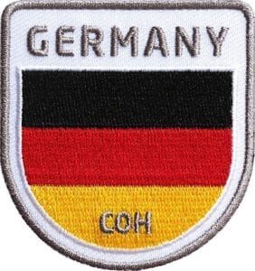 Deutschland-germany-reise-flagge-wappen-flag-fahen-club-of-heroes-coh-patch-patches-aufnaeher-abzeichen-sticker-flicken-buegeln-iron-applikation-gestickt