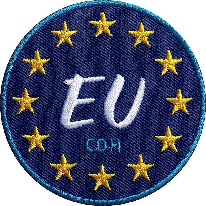 Eu Europa Sterne Flagge Union Aufnäher von Club of Heroes.