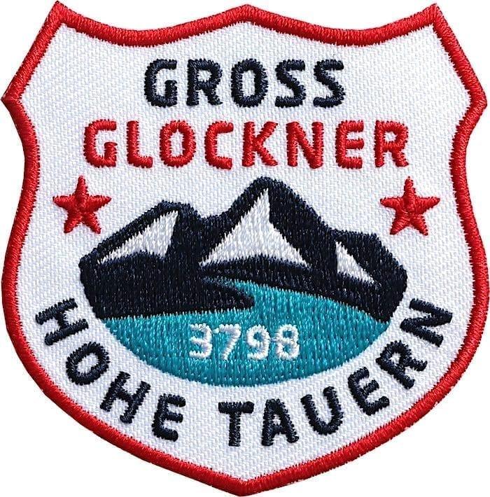 Grossglockner Hohe-Tauern Aufnäher von Club of Heroes.