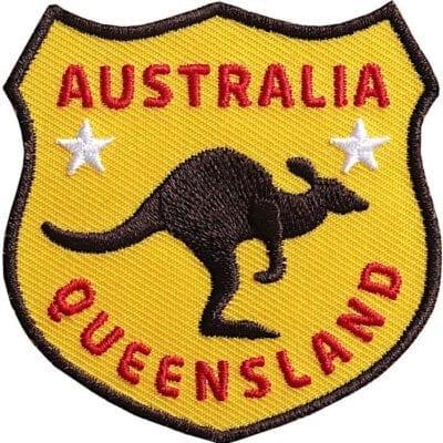 Kaenguru-Australien-Queensland Aufnäher von Club of Heroes.