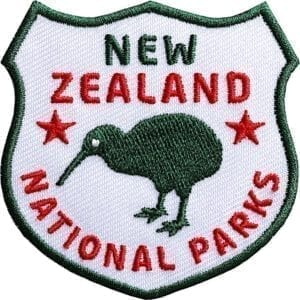 Neuseeland-New-Zealand-Kiwi-Nationalpark-wappen-flagge-club-of-heroes-coh-patch-patches-aufnaeher-abzeichen-sticker-flicken-buegeln-iron-applikation-gestickt