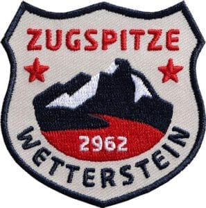 Zugspitze-Wetterstein-Alpen-Berge-garmisch-club-of-heroes-coh-patch-patches-aufnaeher-abzeichen-sticker-flicken-buegeln-iron-applikation-gestickt