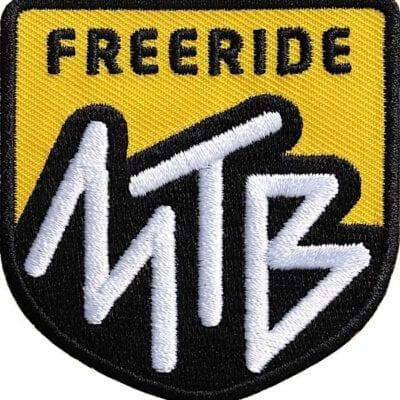 Mtb Mountainbike Freeride Aufnäher von Club of Heroes.