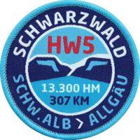 HW5 Schwarzwald Allgäu - Aufnäher von Club of Heroes.