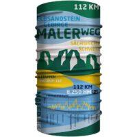Bandana 25 x 50 cm / Malerweg Elbsandstein-Gebirge Multifunktionstuch