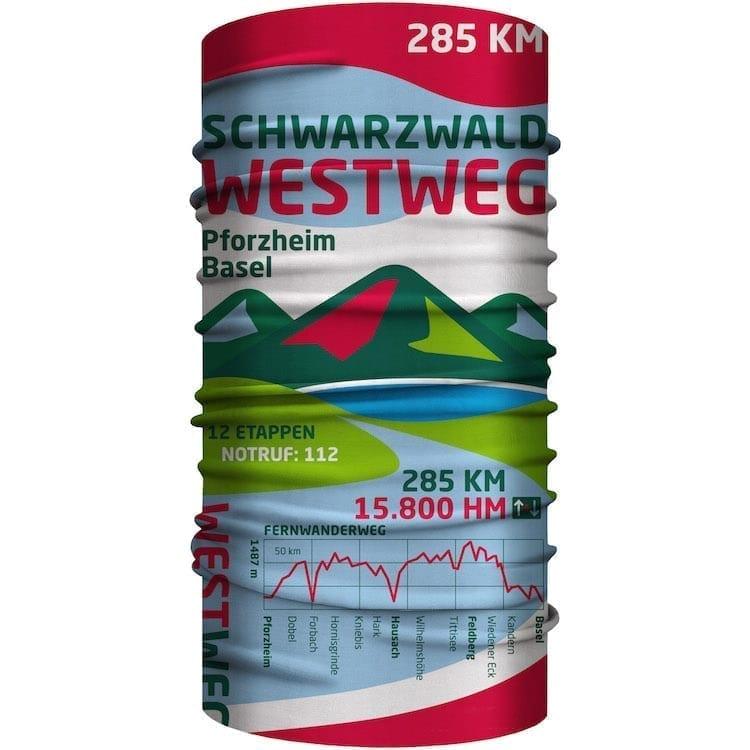 Bandana Westweg Schwarzwald Mundschutz
