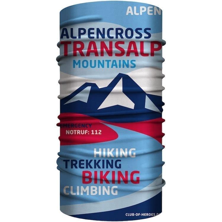 Transalp Alpencross MultiFunktionstuch Bandana Mundschutz