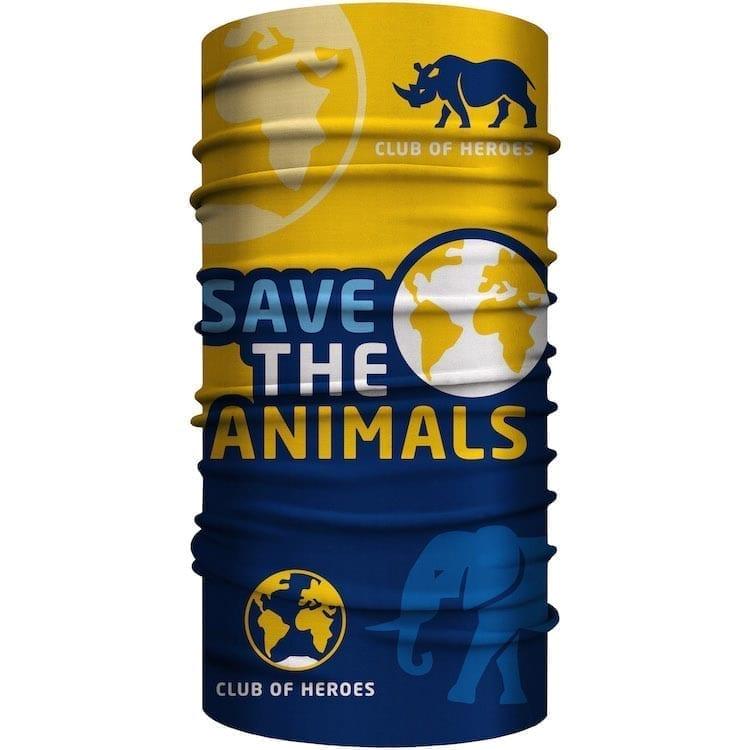MultiFunktionstuch Save the Animals Tierschutz