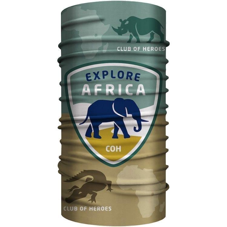 MultiFunktionstuch Afrika Safari Bandana