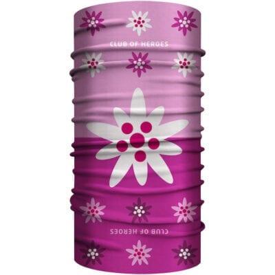 Edelweiss MultiFunktionstuch Bandana Mundschutz rosa Pink