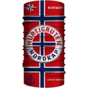 Hurtigruten Norwegen Bandana 25 x 50 cm von Club of Heroes
