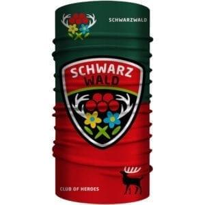 Schwarzwald Design Multifunktionstuch 25 x 50 cm / Bandana, nahtloses Schlauchtuch
