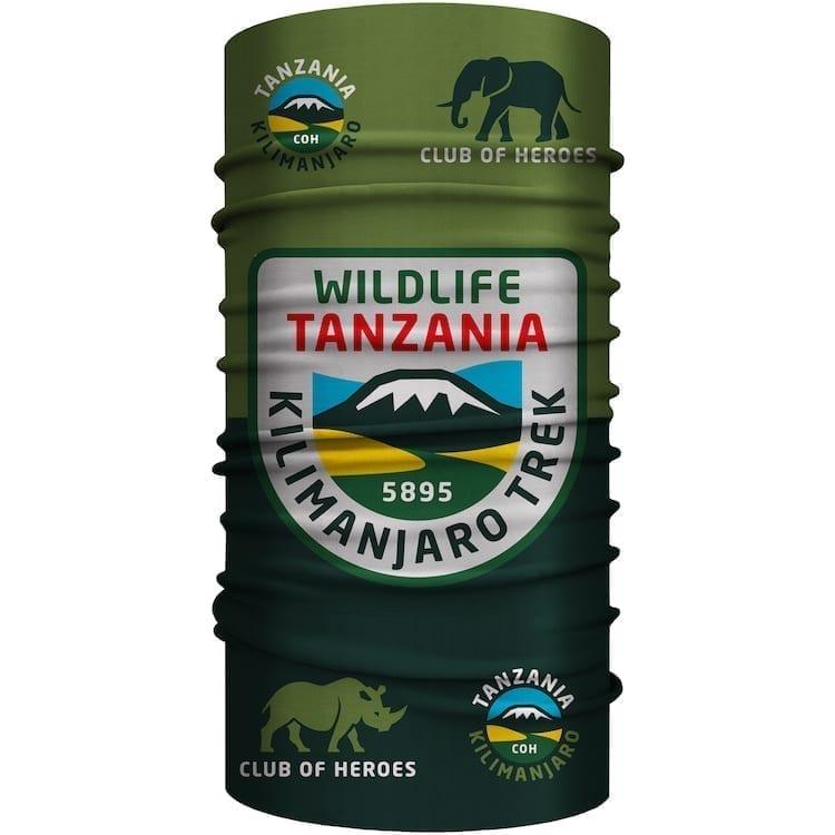 Tansania Kilimanjaro Safari Bandana von Club of Heroes