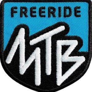 Mtb-Mountainbike-Freeride Aufnäher von Club of Heroes. Hochwertig gestickte Patches wie Aufbügler Bügelbilder Bügelflicken zur Veredelung von Textilien, zum Aufbügeln oder Aufnähen auf Jacken, Kleidung. IM COH Patch-Shop.