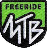 Gruen Mtb-Mountainbike-Freeride Aufnäher von Club of Heroes. Hochwertig gestickte Patches wie Aufbügler Bügelbilder Bügelflicken zur Veredelung von Textilien, zum Aufbügeln oder Aufnähen auf Jacken, Kleidung. IM COH Patch-Shop.