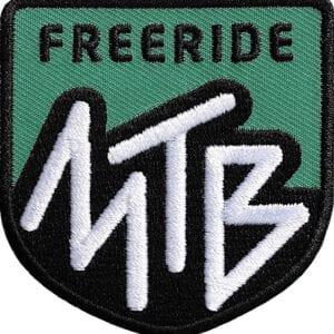 Mtb-Mountainbike-Freeride Aufnäher olive von Club of Heroes. Hochwertig gestickte Patches wie Aufbügler Bügelbilder Bügelflicken zur Veredelung von Textilien, zum Aufbügeln oder Aufnähen auf Jacken, Kleidung. IM COH Patch-Shop.