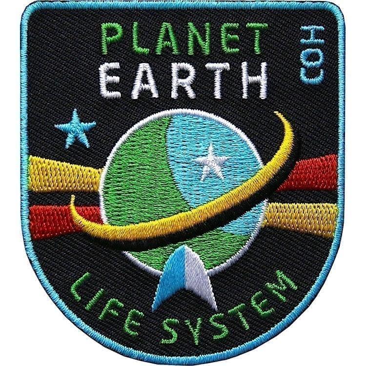 Planet Erde Raumfahrt Aufnäher