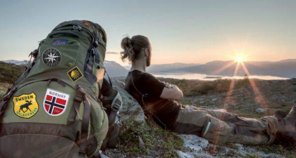 Patches für Trekking, Bergtour, Outdoor, Reisen, Sport von Club of Heroes. Hochwertig gestickte Aufnäher, Aufbügler und Applikationen.