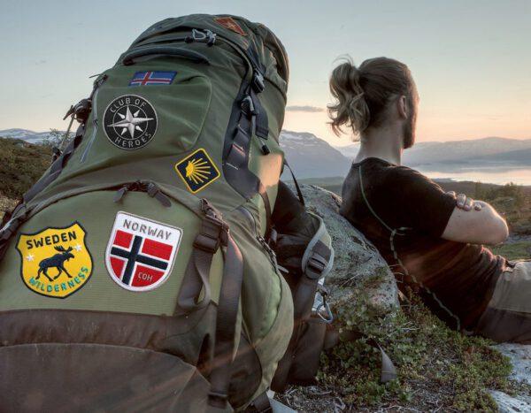 Patch-Shop von Club of Heroes. Patches für Trekking, Bergtour, Outdoor, Reisen, Sport. Hochwertig gestickte Aufnäher, Aufbügler und Applikationen.