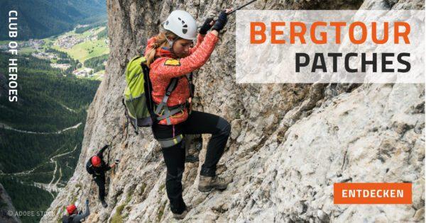 Bergsteiger Abzeichen Entdecke die schönsten Abzeichen für Berge der Alpen und Gebirge der Welt - wie Zugspitze, Großglockner, Ortler, Dolomiten, Karwendel, Dachstein, Triglav, Karpaten oder Everest, K2 oder Kilimandscharo.